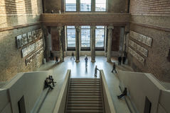Neues Museum, interior, staircase hall, Berlin Royalty Free Stock Photos