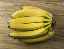 Neues natürliches Bananenbündel stockbild