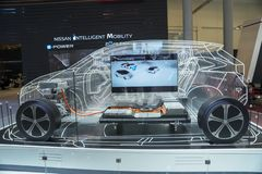New Nissan Intelligent Mobility car at GIIAS
