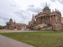 Neues Palais在波茨坦 免版税库存照片