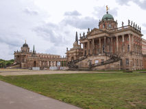 Neues Palais in Potsdam. Ruins of the Neues Palais new royal palace in Park Sanssouci in Potsdam Berlin royalty free stock photos