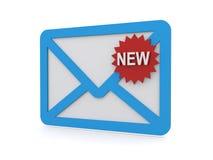 Neues Postzeichen lizenzfreie abbildung
