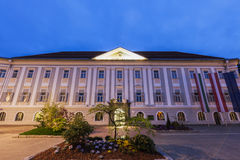 Neues Rathaus在克拉根福 免版税库存图片