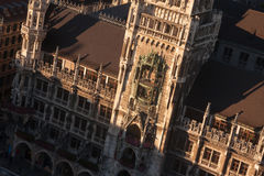Neues Rathaus,慕尼黑 免版税库存照片