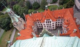 Neues Rathaus Zdjęcie Stock
