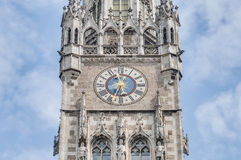 Neues Rathaus building in Munich, Germany Stock Images