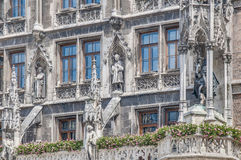 Neues Rathaus building in Munich, Germany Stock Photo
