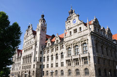 Neues Rathaus - Leipzig, Germany Stock Photo