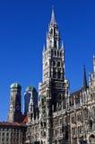 Neues Rathaus in München Lizenzfreies Stockbild