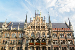 Neues Rathaus Marienplatz Munchen Stockfotografie