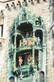 Neues Rathaus Marienplatz Munchen Stockfoto