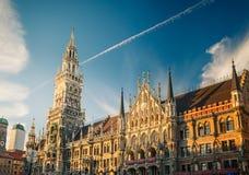 Neues Rathaus in Munchen Lizenzfreies Stockbild