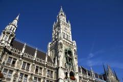 Neues Rathaus Munich Stock Photo