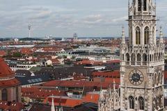 Neues Rathaus w Monachium Obrazy Stock
