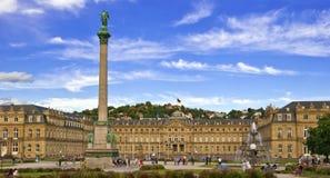 Neues Schloss, Στουτγάρδη Στοκ εικόνες με δικαίωμα ελεύθερης χρήσης