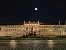 Neues Schloss, Bayreuth. royalty free stock photo