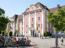 Neues Schloss dans Meersburg Photos libres de droits