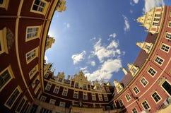 Neues Schloss in falschem Muskau Stockfoto