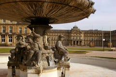 Neues Schloss In Stuttgart Royalty Free Stock Photography