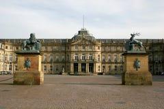 Neues Schloss In Stuttgart Stock Photos