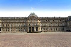 Neues Schloss Neues Schloss Palast des 18. Jahrhunderts in der barocken Art in Deutschland, Stuttgart Stockfoto