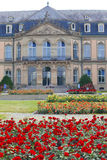 Neues Schloss Neues Schloss Palast des 18. Jahrhunderts in der barocken Art in Deutschland, Stuttgart Lizenzfreies Stockbild