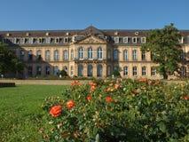 Neues Schloss (New Castle), Stuttgart Royalty Free Stock Photo