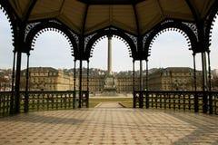 Neues Schloss in Stuttgart royalty free stock images