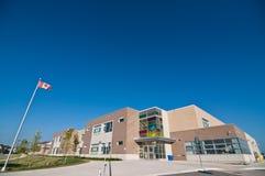 Neues Schulgebäude Stockbild