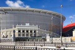 Neues Stadion für die Weltmeisterschaft 2018 Lizenzfreie Stockfotografie