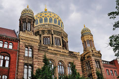 Neues Synagoge, Berlin. The Neues Synagoge (New Synagogue) in Berlin, Germany Royalty Free Stock Image