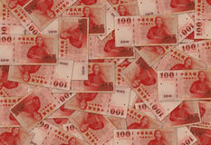 Neues Taiwan-Dollar-Bargeld Stockbild