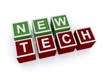 Neues Technologiezeichen Lizenzfreies Stockfoto