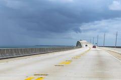 Neues Teil der sieben Meilen Brücke Lizenzfreie Stockfotos