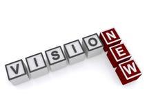Neues Visionszeichen Lizenzfreie Stockfotos