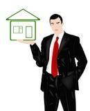 Neues Wohnungshaus für den Geschäftsmann Stockbilder