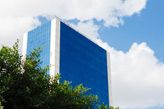 Neues WolkenkratzerGeschäftszentrum Stockfotos