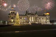 Neues Year& x27; s Eve in Berlin Stockfoto
