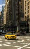 Neues York Settembre 2016: Die legendären gelben Fahrerhäuser von New York Stockfoto