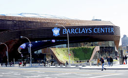 Neueste Sportarena Barclays zentrieren in Brooklyn, New York stockfoto