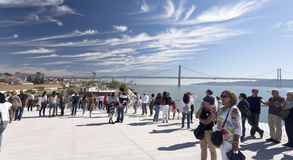 Neuestes Museum Lissabons Stockfoto