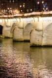 neuf Παρίσι pont Στοκ Εικόνες