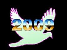 An neuf 2009 Photo libre de droits
