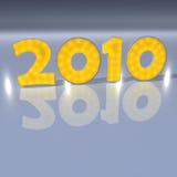 An neuf 2010 Image libre de droits