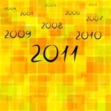 An neuf 2011 Image stock