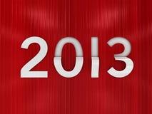 An neuf 2013 Image libre de droits