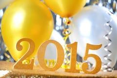 An neuf 2015 Photographie stock libre de droits