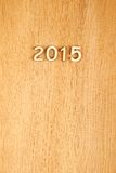 An neuf 2015 Images libres de droits
