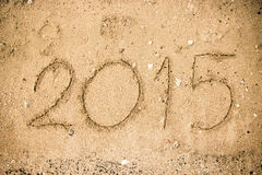 An neuf 2015 Image libre de droits