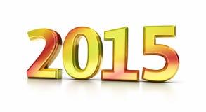 An neuf 2015 Photos libres de droits